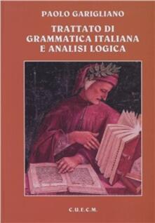 Voluntariadobaleares2014.es Trattato di grammatica italiana e analisi logica Image