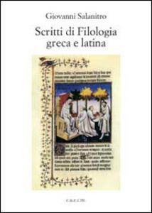 Scritti di filologia greca e latina
