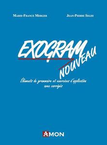 Radiospeed.it Exogram nouveau. Éléments de grammaire et exercices d'application avec corrigés Image