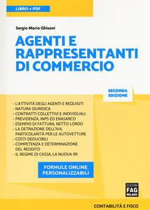 Libro Agenti e rappresentanti di commercio. Con Contenuto digitale per download e accesso on line Sergio Mario Ghisoni