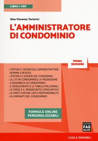 L' L' amministratore di condominio. Con e-book - Tortorici Gian Vincenzo - wuz.it