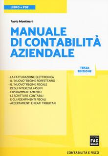 Ascotcamogli.it Manuale di contabilità aziendale. Con e-book Image