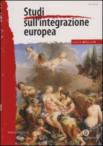 Studi dull'integrazione europea. Vol. 1