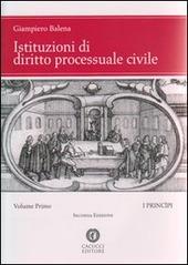Istituzioni di diritto processuale civile. Vol. 1: I principi.