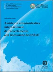 Assistenza amministrativa internazionale dall'accertamento alla riscossione dei tributi