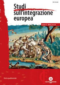 Studi sull'integrazione europea (2014). Vol. 3