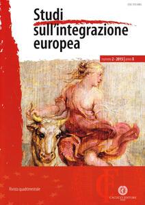 Studi sull'integrazione europea (2015). Vol. 2