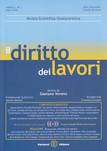Il diritto dei lavori (2016). Vol. 1