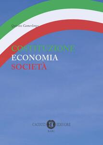 Costituzione economia società