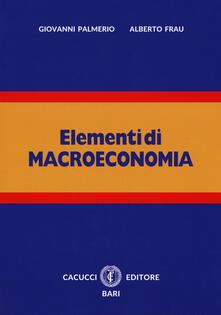 Rallydeicolliscaligeri.it Elementi di macroeconomia. Con espansione online Image
