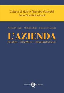 Osteriacasadimare.it L' Azienda. Finalità - Struttura - Amministrazione Image