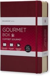 Gourmet Box. Taccuini Moleskine Passion Book Ricette e Passion Book Vini + schede di degustazione