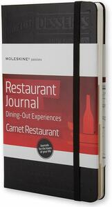 Taccuino Passion Journal Restaurant. Dining Out Experiences Moleskine