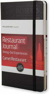 Cartoleria Taccuino Passion Journal Restaurant. Dining Out Experiences Moleskine Moleskine 0