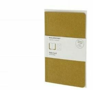 Cartoleria Note Card with Envelope. Biglietti d'auguri con busta Moleskine 0