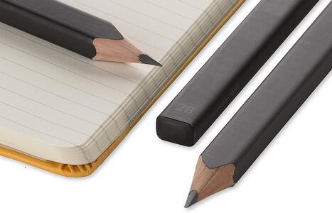 Moleskine 3 Black Pencils matite - 2