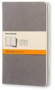 Cartoleria Quaderno Cahier Moleskine large a righe. Set da 3 Moleskine