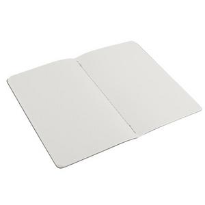 Cartoleria Quaderno Cahier Moleskine large a pagine bianche. Set da 2 Moleskine 1