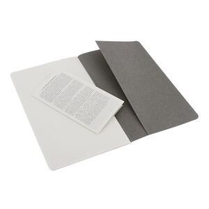 Quaderno Cahier Moleskine large a pagine bianche. Set da 2 - 4