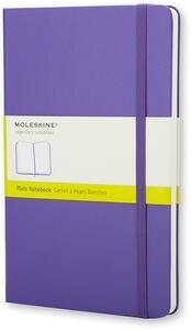Taccuino Moleskine large a pagine bianche
