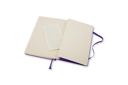 Taccuino Moleskine large a pagine bianche - 5
