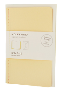 Cartoleria Note Card Pocket. Biglietti d'auguri Moleskine 0