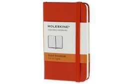 Cartoleria Taccuino Moleskine extra small a pagine bianche copertina rigida Moleskine