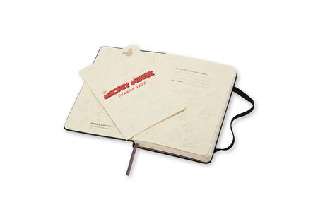 Cartoleria Taccuino Moleskine pocket a pagine bianche. Edizione Speciale Mickey Mouse copertina Moleskine 5