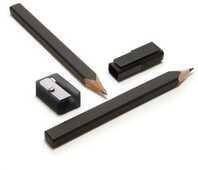 Cartoleria Moleskine Black Pencil Set matite Moleskine