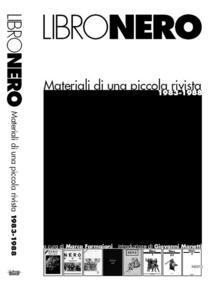 Camfeed.it Libronero. Materiali di una piccola rivista Image
