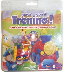 Lpgcsostenible.es Gioca con il trenino! Corri sulla pista con il tuo trenino a molla! Con gadget Image