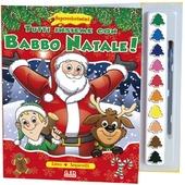Tutti insieme con Babbo Natale! Supercolorissimi. Con gadget