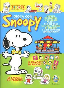 Gioca con Snoopy - Charles M. Schulz - copertina