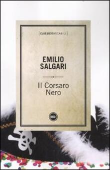 Il corsaro nero - Emilio Salgari - copertina