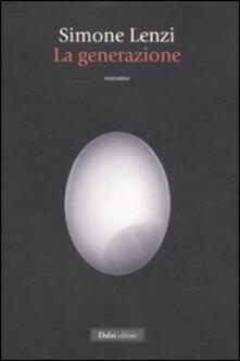 La generazione - Simone Lenzi - copertina