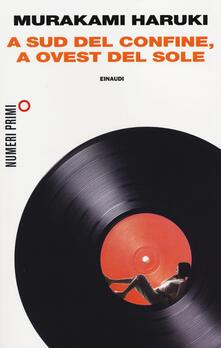 A sud del confine, a ovest del sole - Haruki Murakami - copertina
