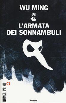 L' armata dei sonnambuli - Wu Ming - copertina