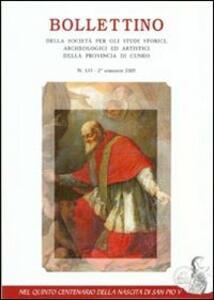 Una città e il suo vescovo. Mondovì al tempo del cardinale Michele Ghisleri