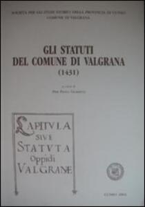Gli statuti di Valgrana