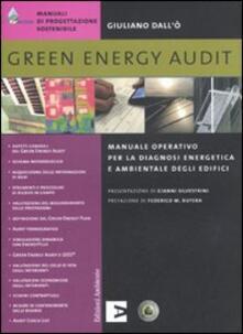 Amatigota.it Green energy audit. Manuale operativo per la diagnosi energetica e ambientale degli edifici Image