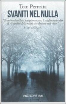 Svaniti nel nulla - Tom Perrotta - copertina