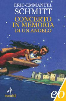 Concerto in memoria di un angelo - Eric-Emmanuel Schmitt - copertina