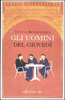 Gli uomini del giovedì - Tonino Benacquista - copertina