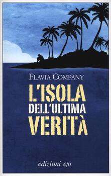 L' isola dell'ultima verità - Flavia Company - copertina