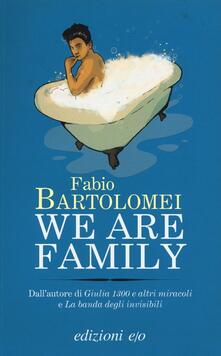 We are family - Fabio Bartolomei - copertina