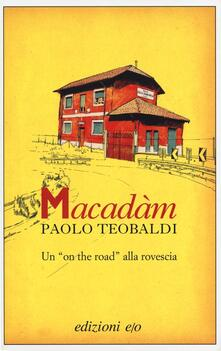 Macadàm - Paolo Teobaldi - copertina