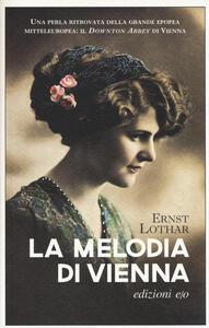 La melodia di Vienna - Ernst Lothar - copertina