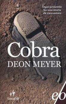 Cobra - Deon Meyer - copertina