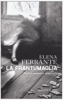 La frantumaglia. Ediz. ampliata - Elena Ferrante - copertina
