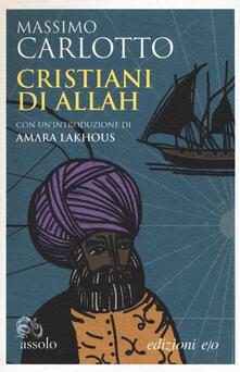 Cristiani di Allah - Massimo Carlotto - copertina